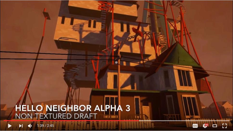 My 'Hello Neighbor' knock off game! Cc10