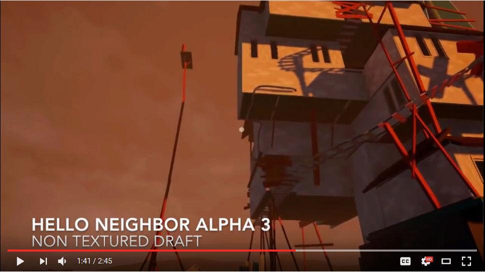 My 'Hello Neighbor' knock off game! Dd11