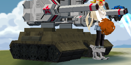 Sasha military tank skin WIP Screen19