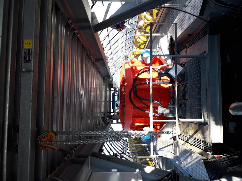 Construction du télésiège débrayable 6 places (TSD6) de Bisanne - Page 3 20161217