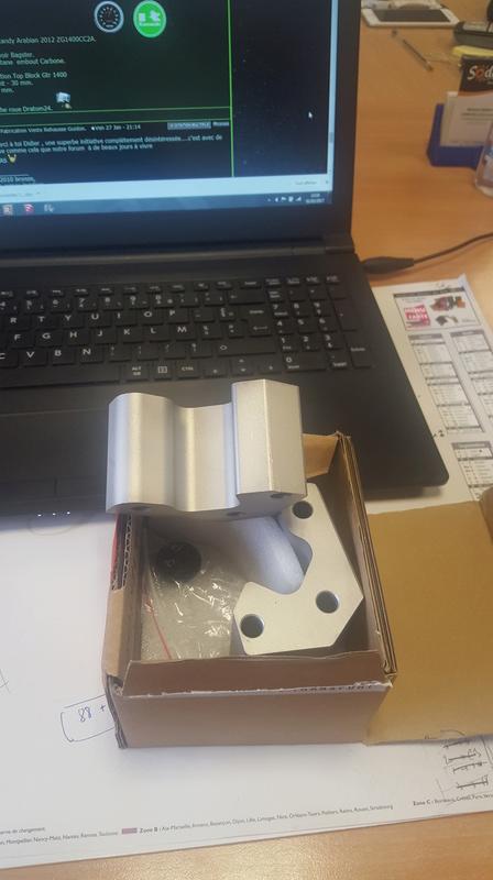 Fabrication Vente Rehausse Guidon. 20170210