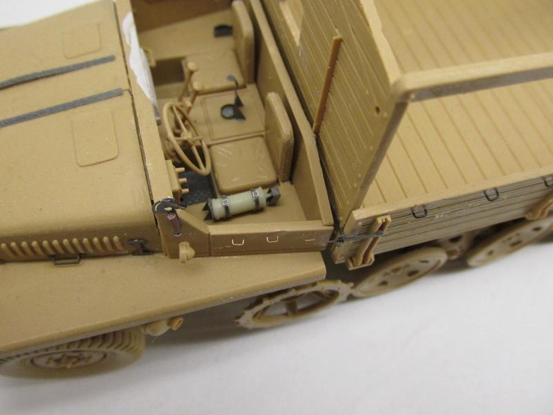 SWS Schwerer Wehrmachtsschlepper (Gerät 71) ITALERI ref 360 et PAK 40 ITALERI ref 361 +photodécoupe Eduard - 1/35 Sws__p20