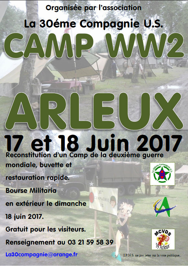 CAMP WW2 ARLEUX 17 et 18 JUIN 2017 Camp_d10