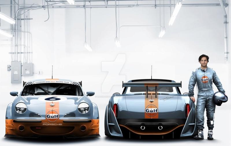 Collaboration VW/Porsche aux 24 heures du Mans... Karman10