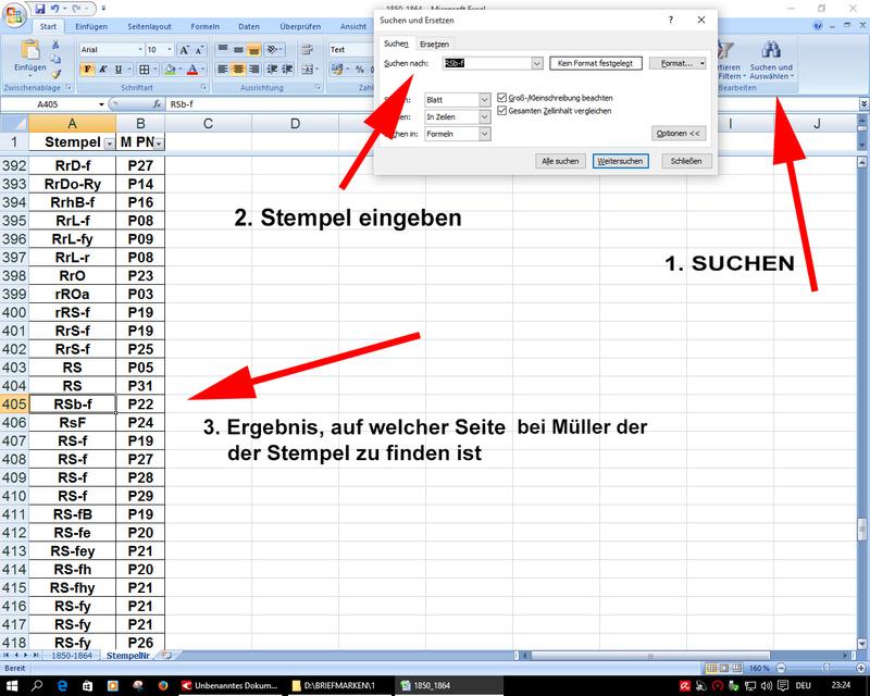 Anlegen einer Stempeldatenbank Daten510