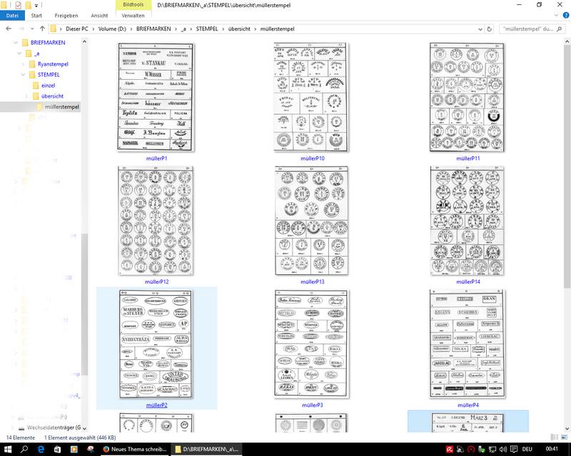 Anlegen einer Stempeldatenbank Daten610