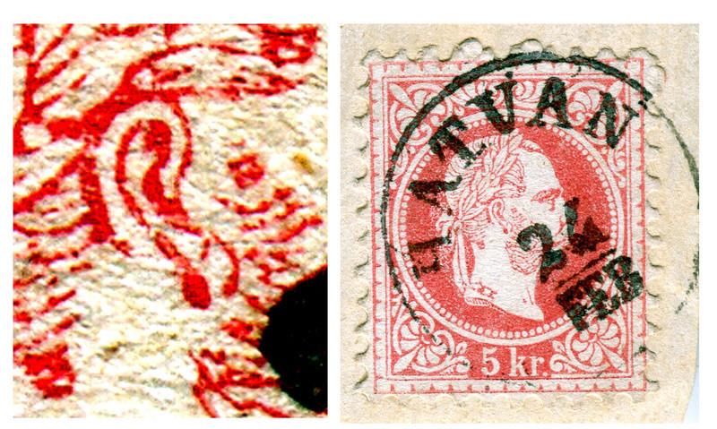Freimarken-Ausgabe 1867 : Kopfbildnis Kaiser Franz Joseph I - Seite 14 Hatvan10