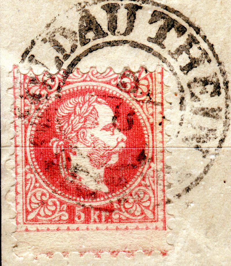 Freimarken-Ausgabe 1867 : Kopfbildnis Kaiser Franz Joseph I - Seite 16 Moldau10