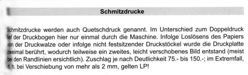 SCHMITZ versus Schmitzdruck/Quetschdruck Papa310