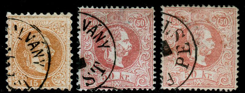 Freimarken-Ausgabe 1867 : Kopfbildnis Kaiser Franz Joseph I - Seite 14 Pest110