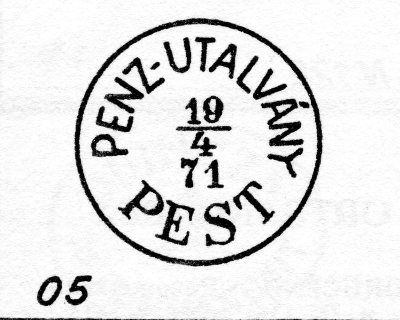 Freimarken-Ausgabe 1867 : Kopfbildnis Kaiser Franz Joseph I - Seite 14 Pest210