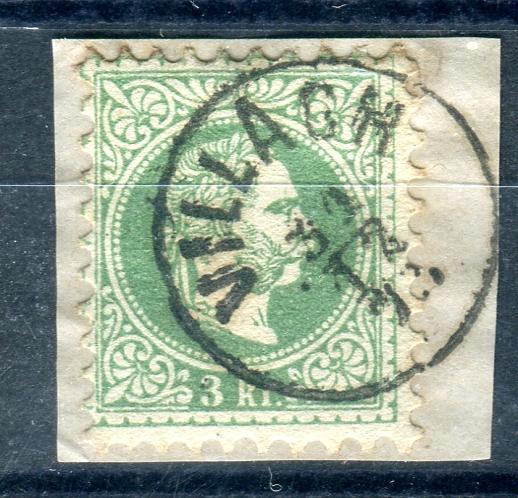 Freimarken-Ausgabe 1867 : Kopfbildnis Kaiser Franz Joseph I - Seite 14 Xx27610