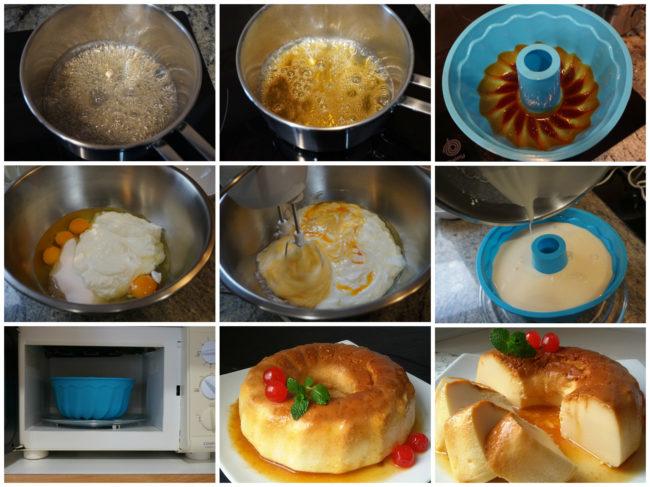Tarta de queso al microondas: Tarta-12