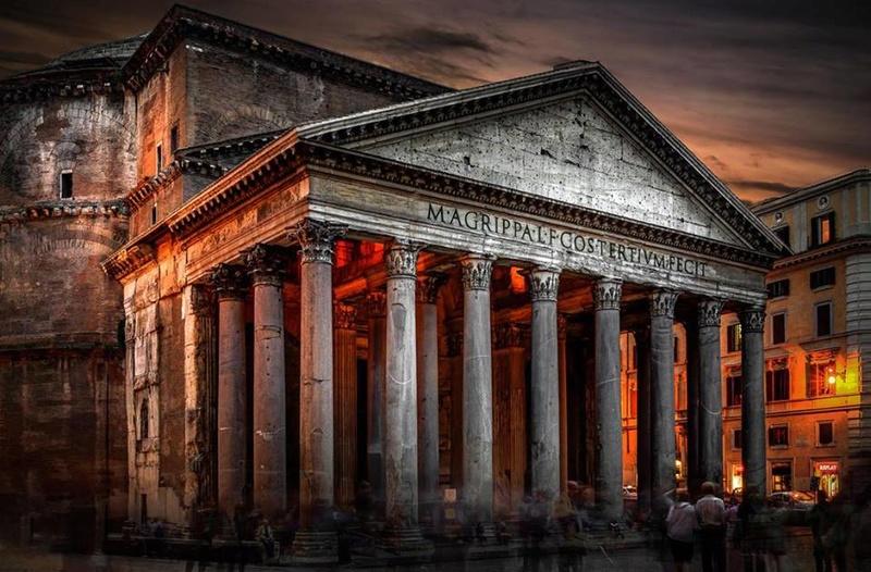 ROMA Y SU IMPERIO EN IMÁGENES Panteo10