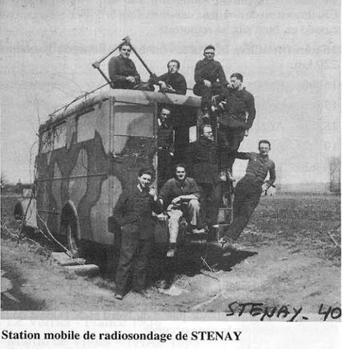 La météorologie dans l'armée francaise Statio10