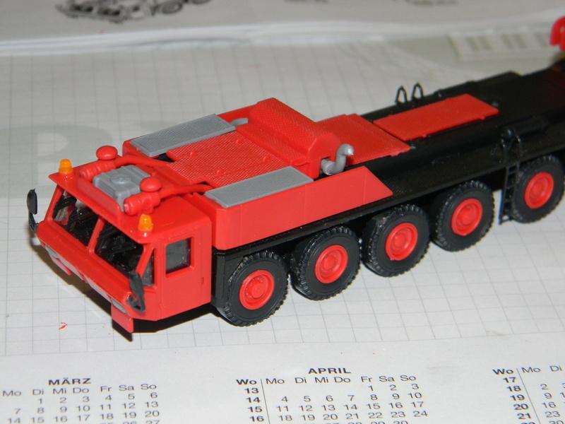 Gottwald Teleskopkran mit Transportfahrzeug Kran_120