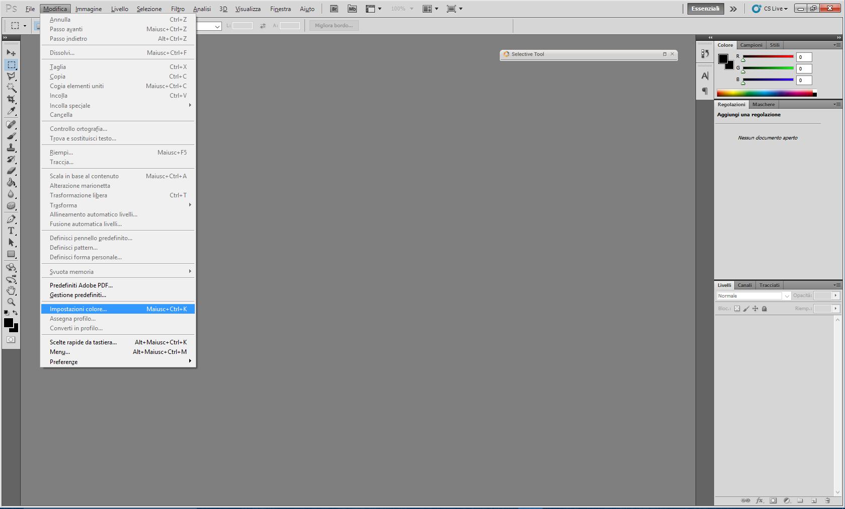 [Tutorial] Cosa fare quando Photoshop chiede se eliminare il profilo colore Photos10
