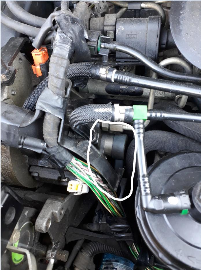 """Capteur """" Rail """" pression injection gazole DW10 xsara picasso 2LHdi Capteu10"""