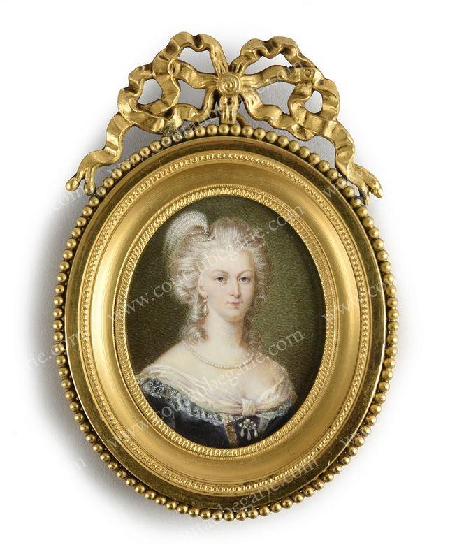 Vente de Souvenirs Historiques - aux enchères plusieurs reliques de la Reine Marie-Antoinette - Page 4 14863812