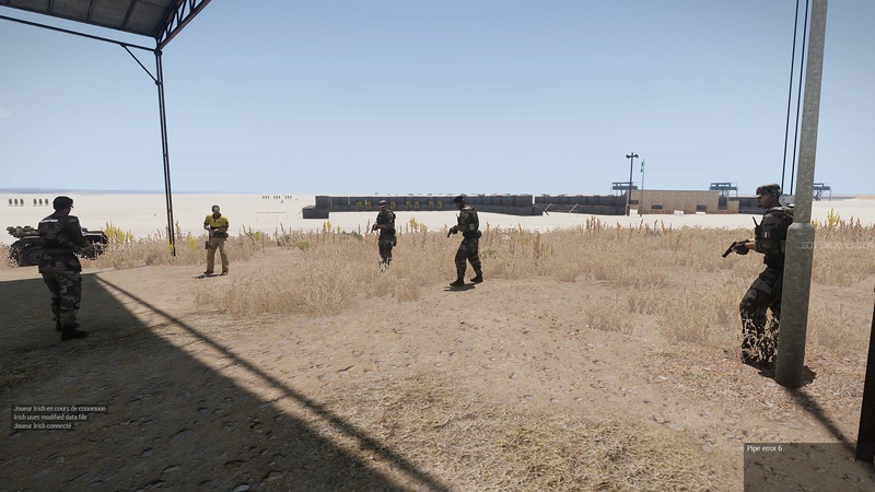 formation armes dispense par  HUIT  instructeur independant Arma3_37