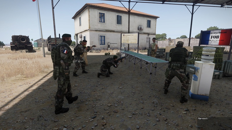 formation armes dispense par  HUIT  instructeur independant Arma3_39