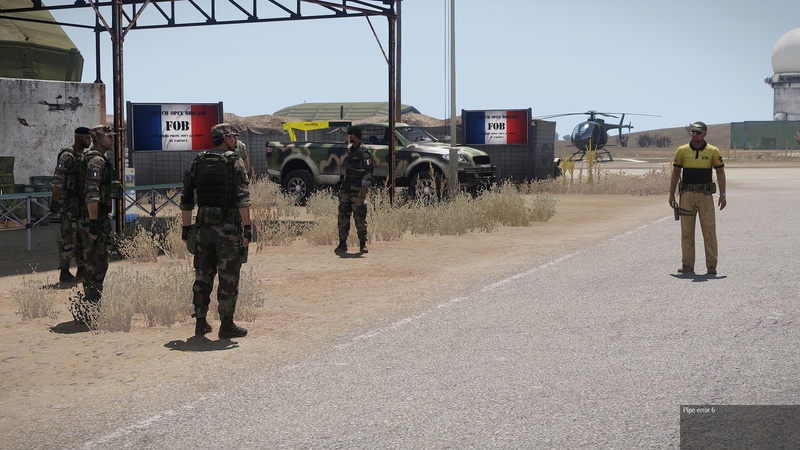 formation armes dispense par  HUIT  instructeur independant Arma3_40
