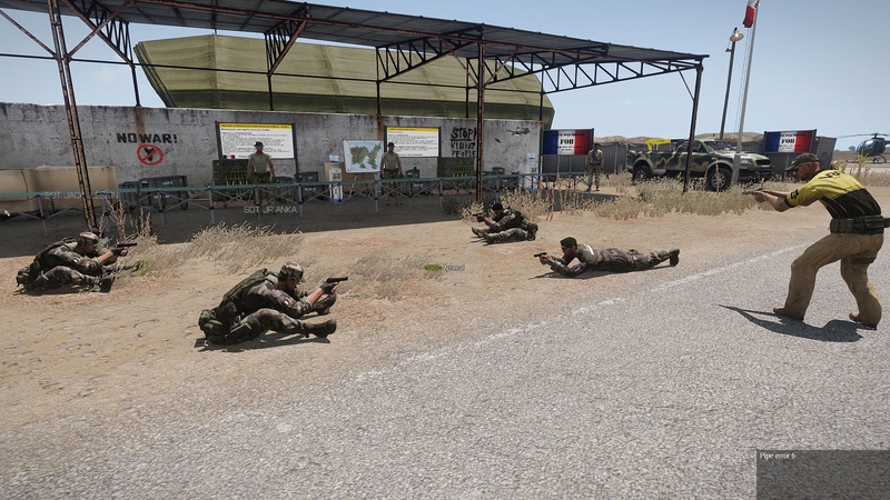 formation armes dispense par  HUIT  instructeur independant Arma3_42