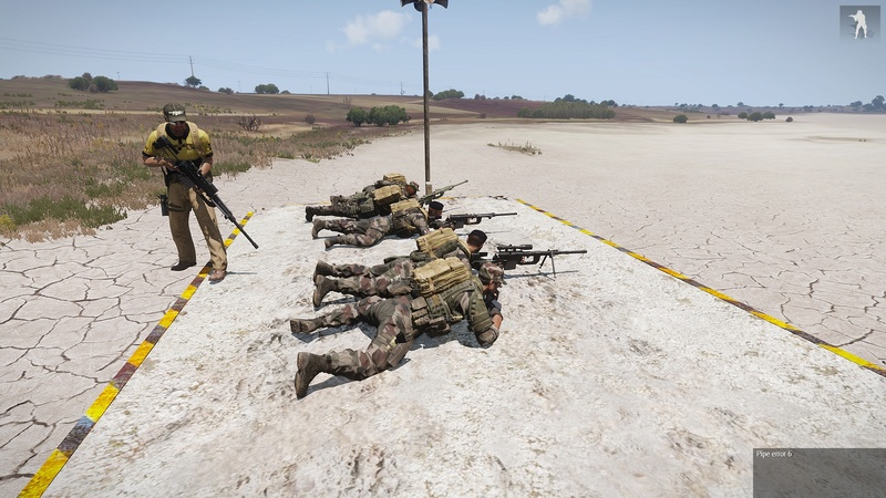 formation armes dispense par  HUIT  instructeur independant Arma3_43