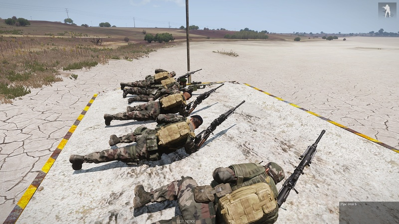formation armes dispense par  HUIT  instructeur independant Arma3_44