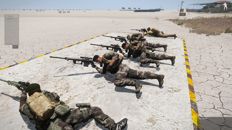 formation armes dispense par  HUIT  instructeur independant Arma3_46