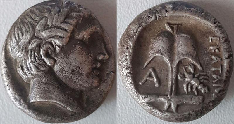 Apollonia Pontica tétradrachme fausse ou authentique ?  Apollo10