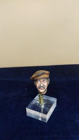 Buste terminé et premier prix ( 1/9 Model Cellar Blak Jack mineur des années 1800) 16729713