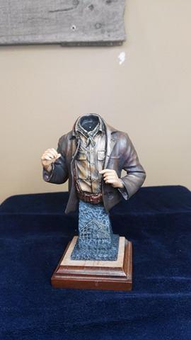 Buste terminé et premier prix ( 1/9 Model Cellar Blak Jack mineur des années 1800) 16735811