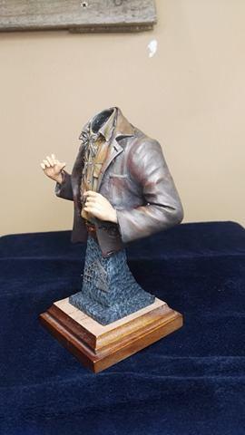 Buste terminé et premier prix ( 1/9 Model Cellar Blak Jack mineur des années 1800) 16736111