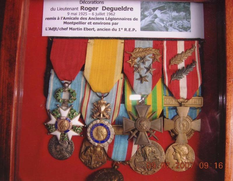 1 er Régiment Etranger de Parachutistes - Page 2 Decora10