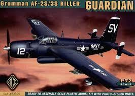 AF 3S Grumman Guardian ACE #72305 Boxart12