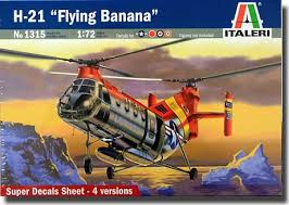 H21 Flying Banana Italeri #1315     1/72 Tylych10