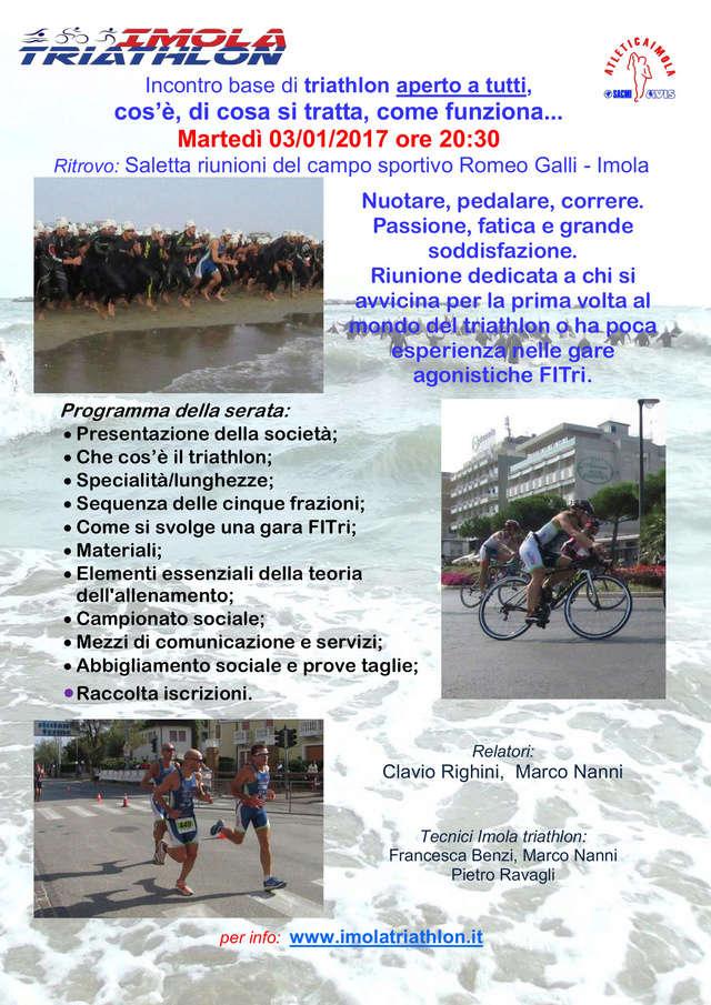 Incontro formativo di triathlon primi passi - 03/01/2017 20160111
