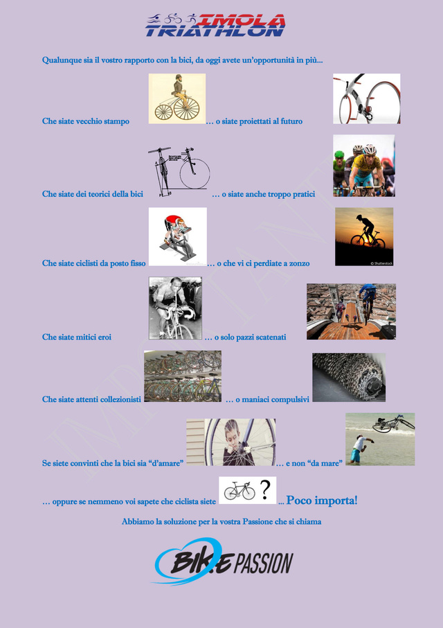 Tesseramento ciclismo 2017 con Bike Passion-adesione entro 03/01/2017 Comunq10