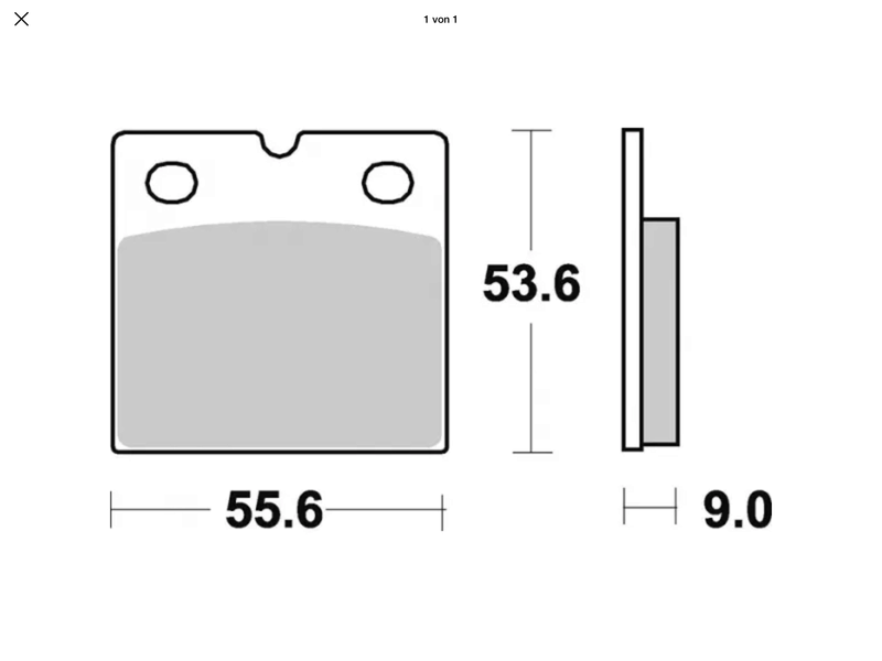 BMW Brake Pads | different sizes for the K? Img_2611