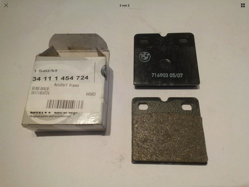 BMW Brake Pads | different sizes for the K? Img_2615