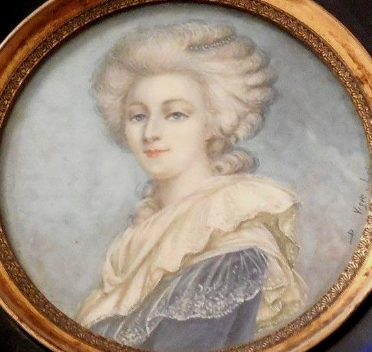 Portrait de la Reine au livre en robe rouge Zzzfon23