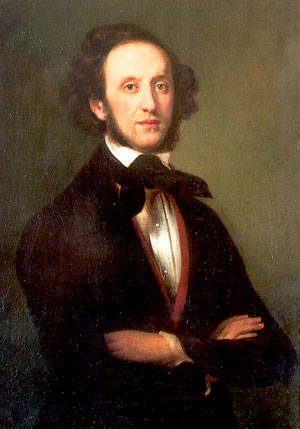 Felix Mendelssohn:  He was a German composer and the predominant musical figure in the transitional period between the Classical and Romantic eras, and was considered one of the greatest composer of all time. 14543210