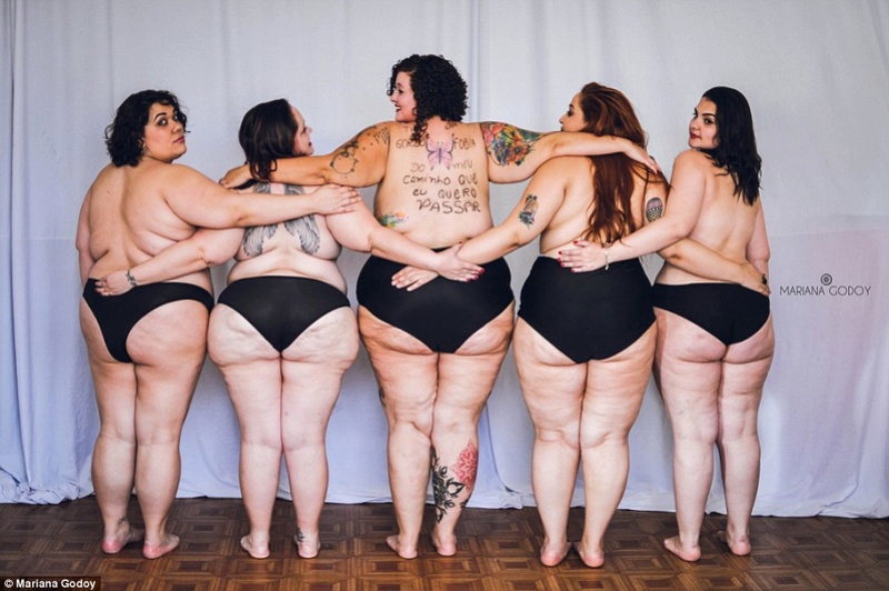 Body positive beauties bared all to celebrate their new bodies and prove you can be sexy at any size. 2b009712