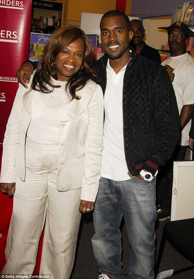 Kanye West and his mother, Donda, shared a very close bond. It came through in their public appearances together and in the music Kanye made 3bd04110