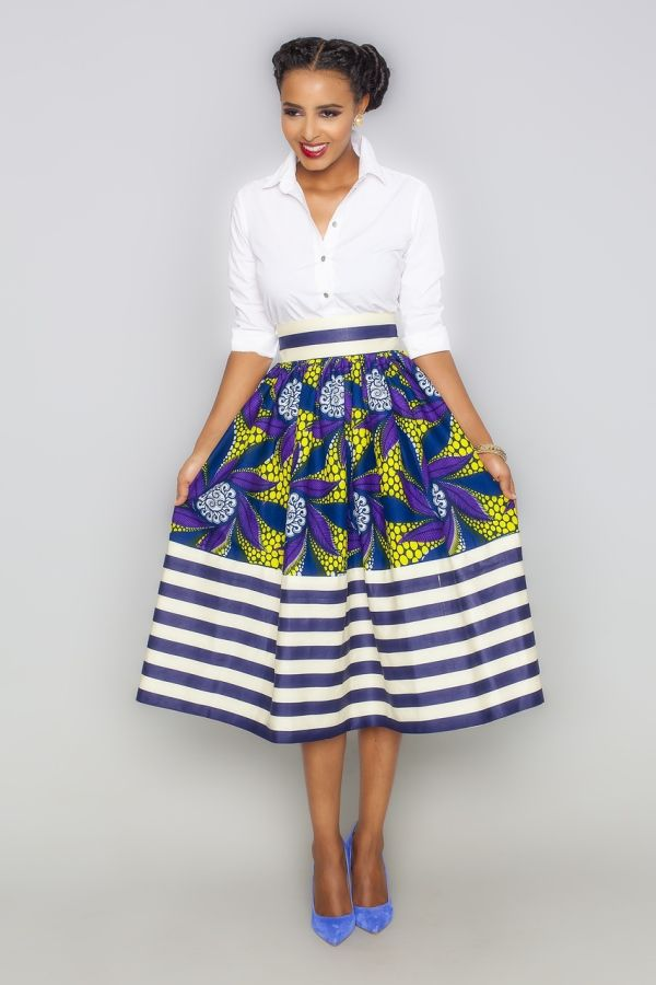 Style Guide On How To Wear Prints Mix Or Match Africa11