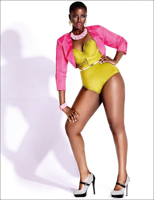 African American curvy and confident beauties show off their figure Curve_10