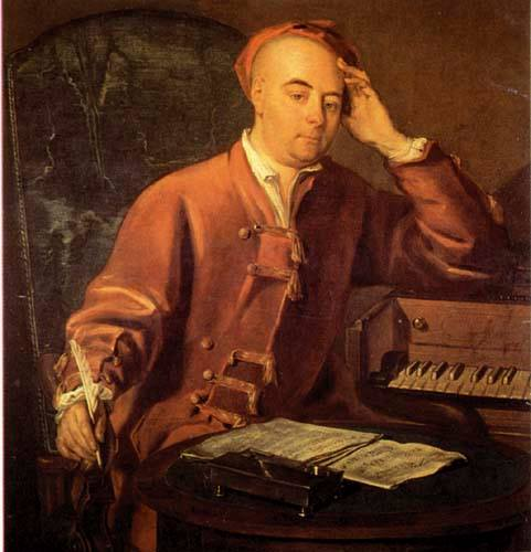 Georg Friedrich Händel: Italian the baroque composer who spent the bulk of his career in London and later became british Edswe10