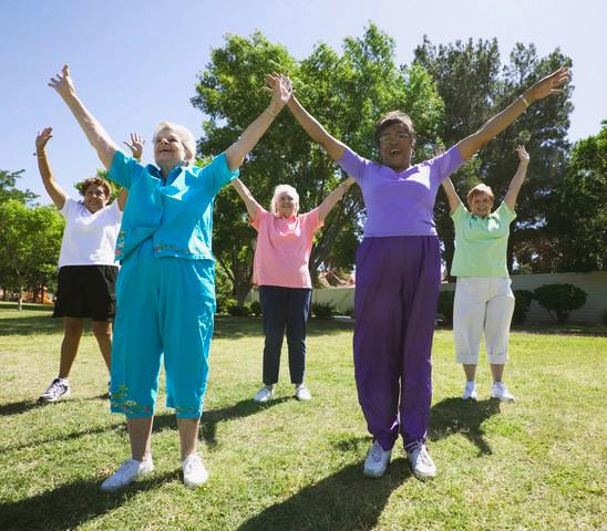 Senior Citizens and healthy living: Why exercise is important to them. Images38