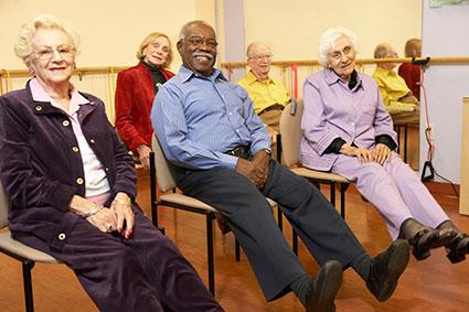 Senior Citizens and healthy living: Why exercise is important to them. Images39